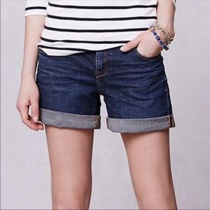 Anthropologie Pilcro denim stet fit shorts size 26